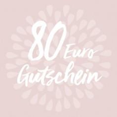 Gutschein-Karte 80 €