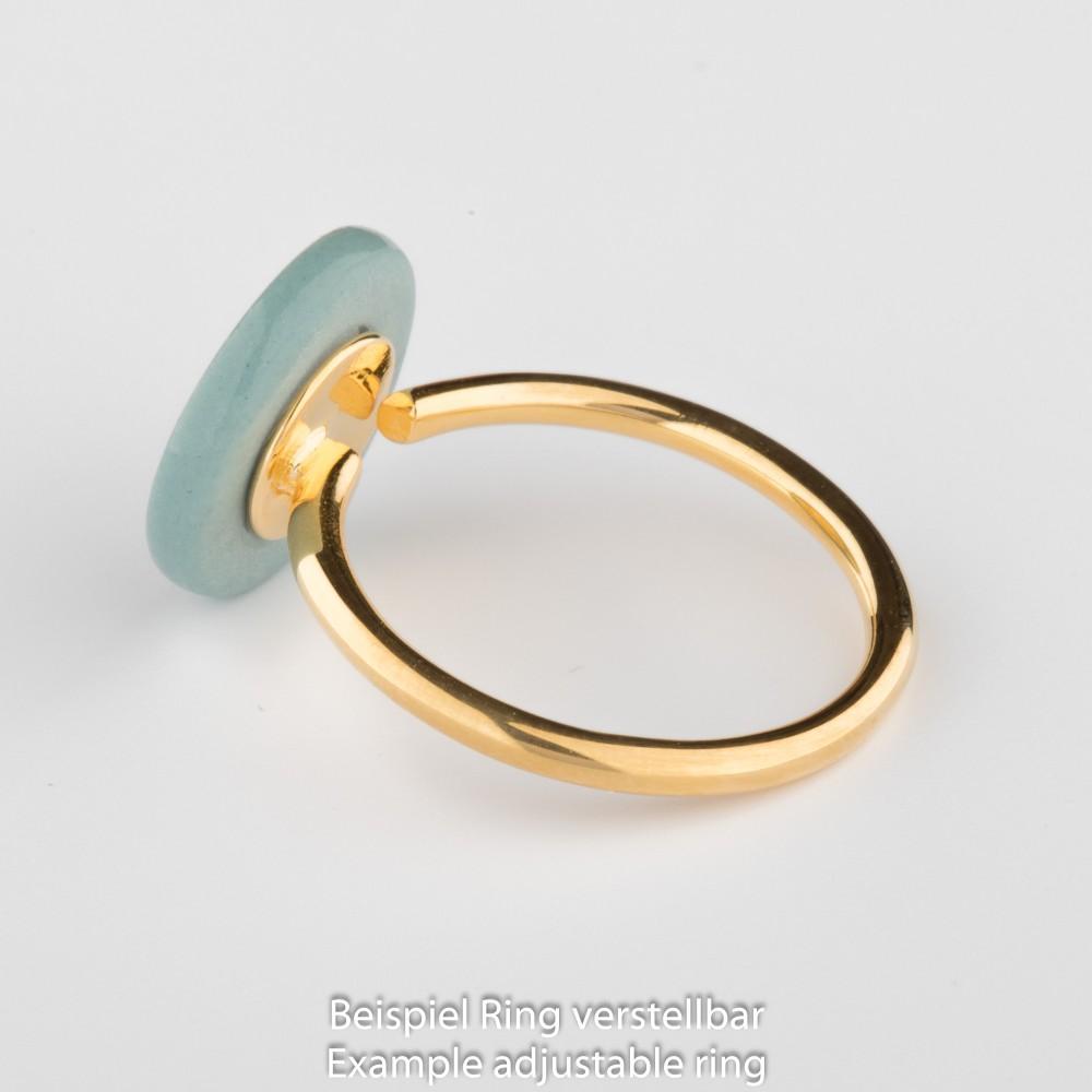 Porzellan Ring Baum