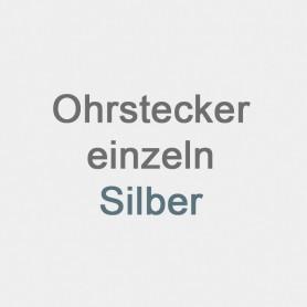 Ohrstecker Einzelstück Silber