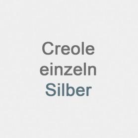 Creole einzeln Silber