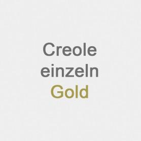 Creole einzeln Gold