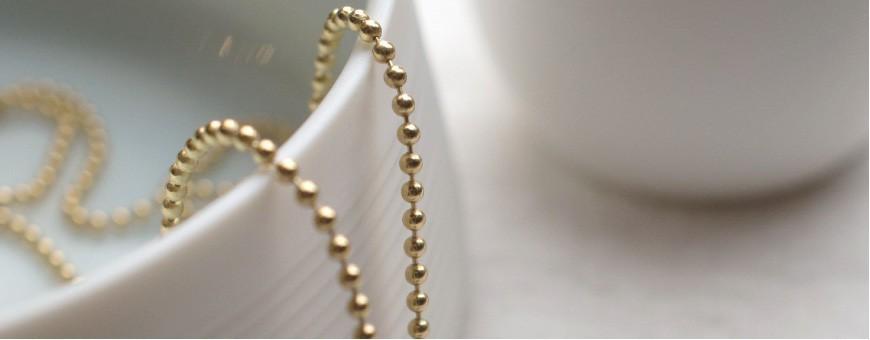 Kette halskette vergoldet kugelkette Längen verschiedene silber XuTOkiPZ