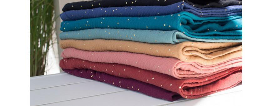 Schals aus reiner Öko-Tex® Baumwolle